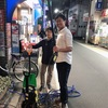 店の入口🧹大掃除🧼