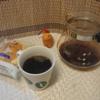 今回のコーヒーはインドネシア(中煎り)~お茶請けはチーズケーキ~