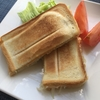 ホットサンドメーカー(ニトリ)で作るツナ明太子サンドの作り方