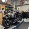 2015 FXSB Thunderbike リアフェンダー シート制作