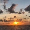 2019年10月 モルディブ旅行 旅行記⑦ 4日目前半 〜  綺麗な朝焼けのスタートです。 〜