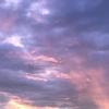 長女の週末のできごとと昨日の夕焼け空