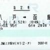 スーパー白鳥95号 指定券