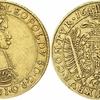 神聖ローマ帝国ハプスブルク家1663年レオポルト1世5ダカット金貨