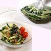 【一石○鳥レシピ・簡単常備菜】きゅうりのカンタン酢漬・納豆サラダ風
