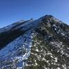 2018.12.21  初冬の金峰山をローカット防水トレランシューズとスパイダーで登ってみた