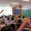 1年生:学習発表会のダンス練習
