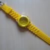 UFOキャッチャーで黄色の時計をゲット!
