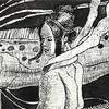 ようこそ深海の竜宮へ。リュウグウノツカイの銅版画