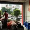 中国 朝食のレストラン