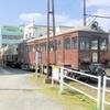 高松築港駅の回送される前レトロ電車は