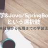 独学&Java/SpringBootという選択肢(未経験からエンジニア転職までの学習法)