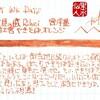 #0770 文具の蔵 Rihei 宮洋墨 富士宮やきそばオレンジ