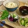 6/2 朝玄米カレー・昼そうめん  @減量めし