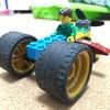 5歳児のレゴ作品「5人乗りカー」