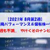 【株式】週間運用パフォーマンス&保有株一覧(2021.8.13時点) 今週も不調... やけくそのナンピン