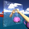 3D空間で鏡を表現するプログラムの解説動画