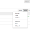 install bash_kernel for jupyter notebook.