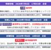 『長崎市は大雨特別警報・土砂災害警戒情報発令中』