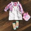 ミニサイズでも本格的!ホワイトデニムのジャンパースカートを作りました~『パターンレーベルの子供服ソーイングSTYLEBOOK』より