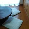 夏にむけて。リネンの座布団カバーを新調しました【ファスナーなしの簡単手作り】