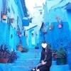 【モロッコひとり旅】幻想的な早朝のシャウエン