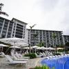 ハレクラニ沖縄の美しい景観をまとめてみた。お庭にプールにビーチなど。本家ハレクラニとの比較も。
