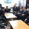 大阪で選挙応援、国交省訪問