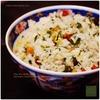 沖縄料理の宴1/5:パンチェッタを使った沖縄の炊き込みご飯|クファジューシー