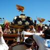 尾道みなと祭り  神輿披露