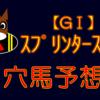 【GⅠ】スプリンターズS 結果 回顧