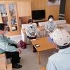 17日、地震被害が大きい新地町の現地調査と町長から聞き取り