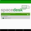 spacedeskでandroidタブレットを外部ディスプレイ化