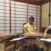 今週末コンサートに向けて、小さな琴弾き達も夏休み強化練習中