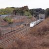 新幹線の撮影へ