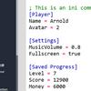 【Unity】INI ファイルを扱える「Advanced INI Parser」紹介(無料)