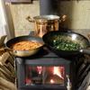 【今シーズンまとめ】ご近所さんに自宅まで届けて頂いた「燃料」で、パスタを超美味しく作る!!