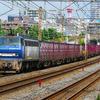 8月30日撮影 東海道線 平塚~大磯間① 貨物列車撮影 5075ㇾ 3075ㇾ