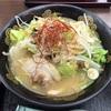 長野県安曇野市「梓川SA上りフードコート」で野菜畑の味噌ラーメン