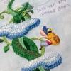 デアゴスティーニ「かわいい刺しゅう」チャレンジ - 第28号その3