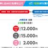 遠征勢必見 新幹線のGOTO便乗割引を比較してみる(日帰り編)