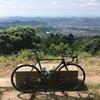 久しぶりに自転車