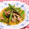 春野菜と鶏肉のマスタード炒め