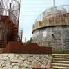 大泉緑地の冒険ランドにある要塞のような滑り台を登る!【堺市&松原市】