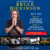 【NEWS】BRUCE DICKINSON が COVID-19 陽性を発表