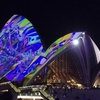 オーストラリア冬のおすすめ!光と音楽とアイデアの祭典ビビッドシドニー