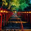 貴船神社 七夕笹飾りライトアップに行った(京都)