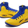 Under Armour Curry 4 Hight イエロー/ブルー メンズ Under Armour 1298306-996 アンダーアーマー カリー 4 ハイト YELLOW/BLUE Mens 黄青 メンズ バスケットボール シューズ