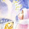 封筒「冬の星座」