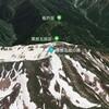 衛星写真で日本百名山の黒部五郎岳を眺めてみよう Let's look at the satellite image of Mount Kurobegorō, one of japan famous 100 mountains.